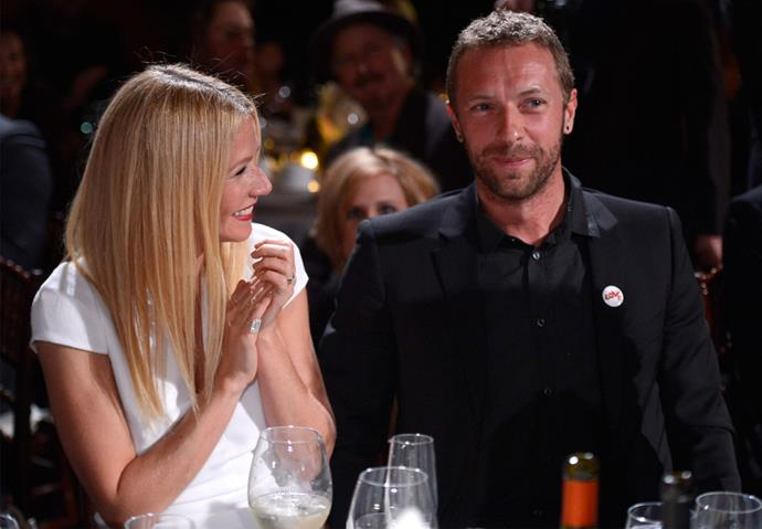 Chris and Gwyneth at a charity gala in 2014. Photo: Getty