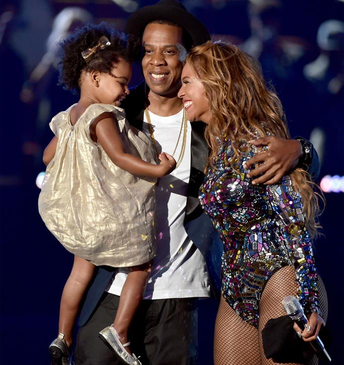Beyonce and Blue both feature on Coldplay's upcoming album. Photo: Getty
