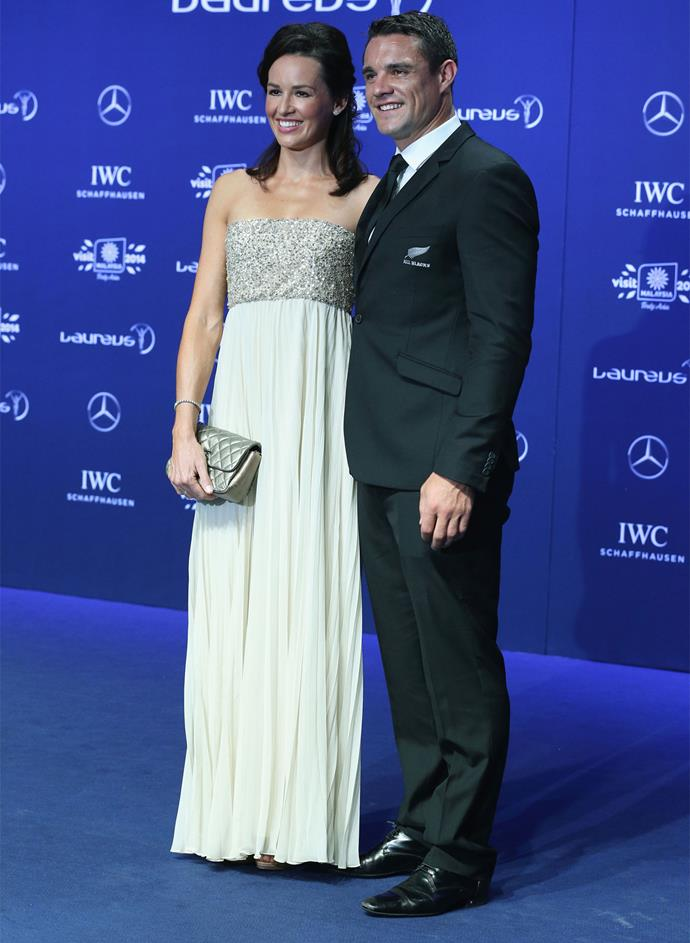 Dan and Honor at the 2014 Laureus World Sports Awards. Photo: Getty