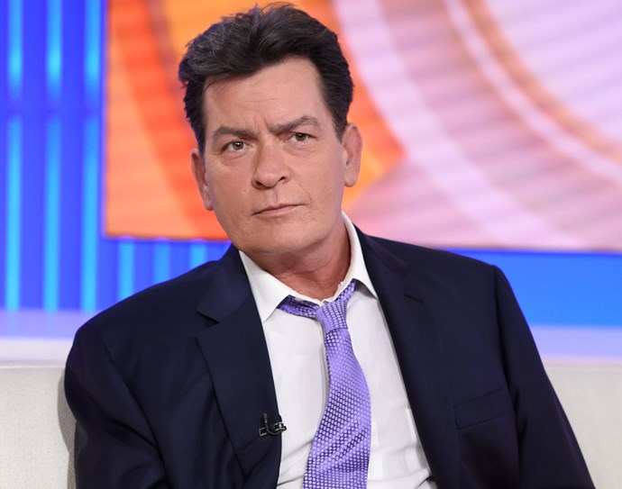 Embattled *Two and a Half Men* star Charlie Sheen hit headlines this year after he announced he was HIV positive, following days of speculation. During his revealing interview on the *Today* show, the 50-year-old actor said he had been diagnosed four years ago and had since been blackmailed by several people about his secret.