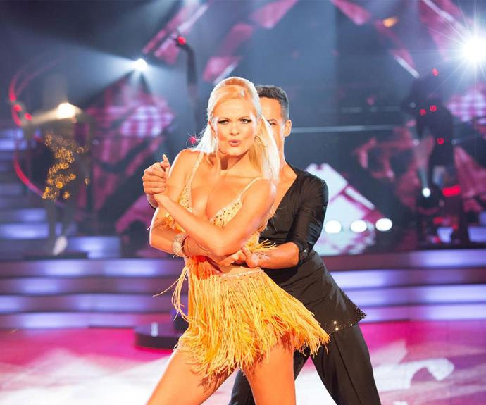 "After failing to win Art's heart, former Bachelorette Chrystal Chenery went on to compete on *Dancing with the Stars* where she tangled with radio host Dominic Harvey. The Edge breakfast presenter posted (then deleted) a shot of Chrystal mid-split during the *DWTS* finale with the caption ""Crystal [sic] just showing Art what he missed out on"", which prompted Chrystal to campaign for his dismissal."