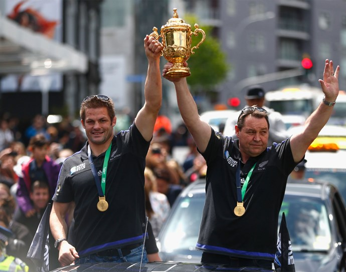 The mighty All Blacks proved their rugby prowess yet again at the 2015 World Cup tournament, where they beat Australia 34-17 to become the first team ever to retain the Webb Ellis Cup following on from their 2011 victory.