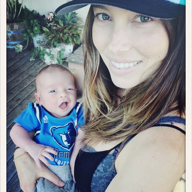 Justin Timberlake and Jessica Biel welcomed their son Silas Randall in April.