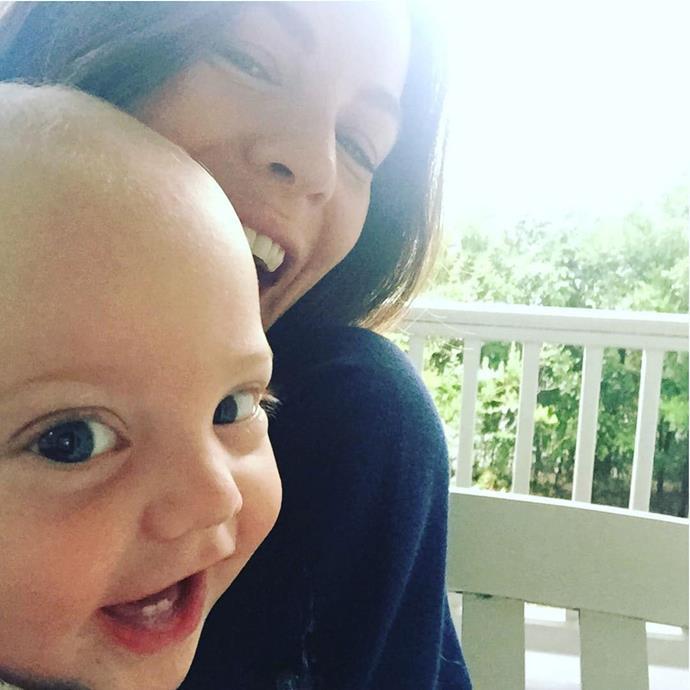 *The Leftovers* star Liv Tyler gave birth to son Sailor Gene on February 11. Photo: Instagram