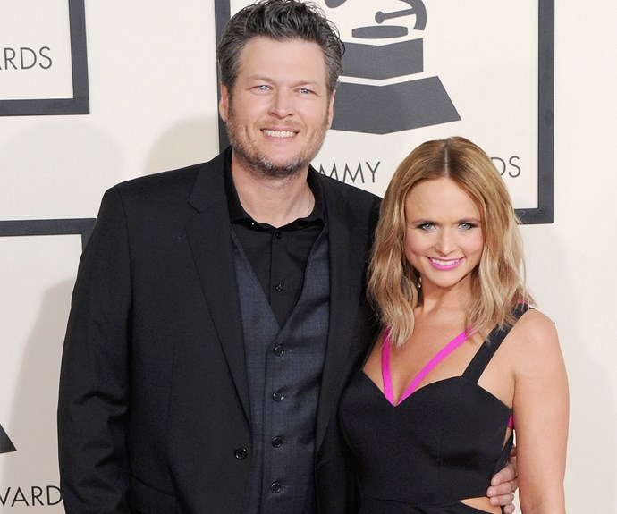 Country music sweethearts Blake Shelton and Miranda Lambert shocked many of their fans when they announced they were splitting up in July, after four years of marriage. Blake is currently linked to his fellow *The Voice* judge Gwen Stefani, who split from her husband Gavin Rossdale this year.