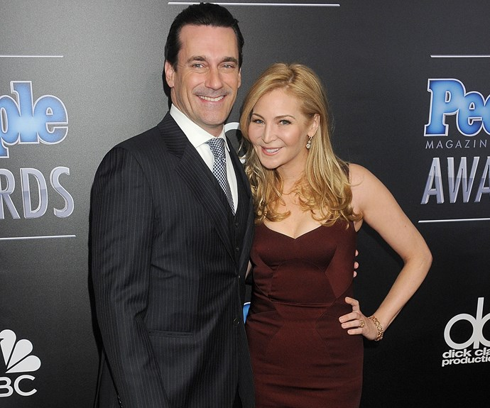 *Mad Men* star Jon Hamm and his partner, actress/writer Jennifer Westfeldt, split in September after 18 years together. The former couple first began dating in 1997.