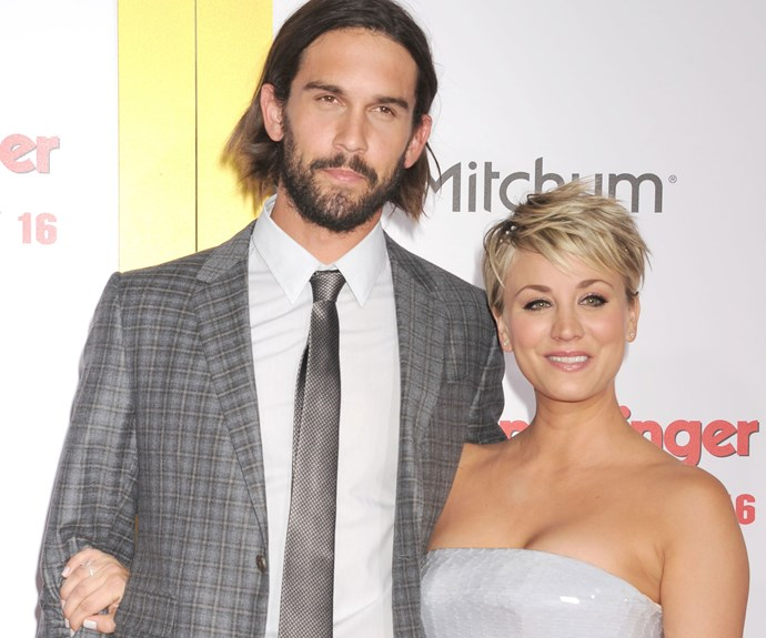 Kaley Cuoco and her tennis pro hubby Ryan Sweeting split up in September after 21 months of marriage, and *The Big Bang Theory* actress is said to have found a new love in *Arrow* star Paul Blackthorne.