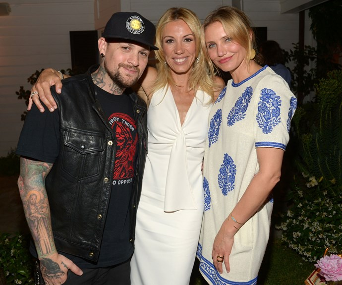 Cameron Diaz and Benji Madden wed on January 5 at their Beverly Hills mansion, after dating for eight months. The ceremony took place in the couple's own back yard, and guests included Reese Witherspoon, Drew Barrymore, Gwyneth Paltrow, Nicole Richie and Joel Madden.