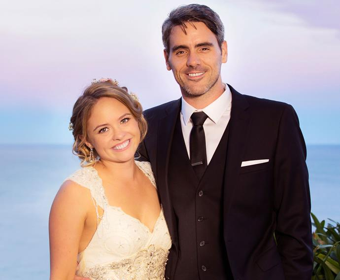 *Shorty* star Johnny Barker wed Abigail Hopkinson in an Art Deco and vintage-themed wedding in Napier earlier this year.