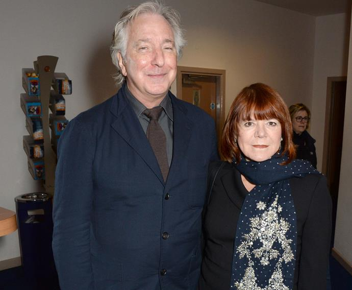 Alan Rickman and his long-time partner Rima Horton finally tied the knot this year after being together for 50 years! The couple kept it low key with a ceremony in New York for just the two of them.