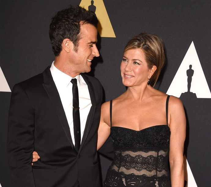 Jennifer Aniston and Justin Theroux surprised everyone (including their guests!) when they pulled off the impossible: a private wedding at their Bel Air mansion! The lovebirds tied the knot in August in front of a reported 70 guests, including Courteney Cox, Lisa Kudrow, Chelsea Handler, Emily Blunt and John Krasinski, Jimmy Kimmel and other celebs.