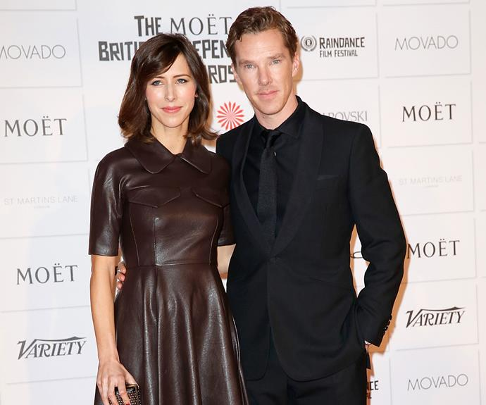 Benedict Cumberbatch and Sophie Hunter's romantic wedding took place on Valentine's Day at a medieval church on the Isle of Wight, with a reception held at a historic English manor house nearby.