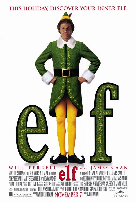 *Elf* is a classic for a reason! Funny man Will Ferrell stars as Buddy, a hapless human raised among the elves in the North Pole who travels to New York in search of his real father.