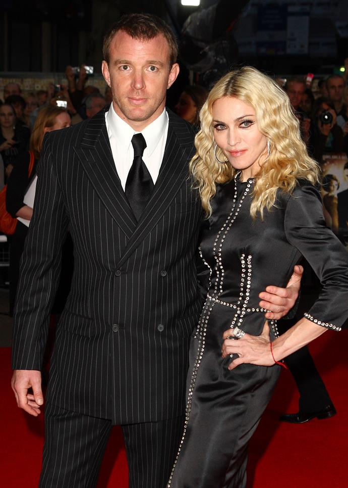 Guy Ritchie and Madonna in happier times. Photo: Getty.