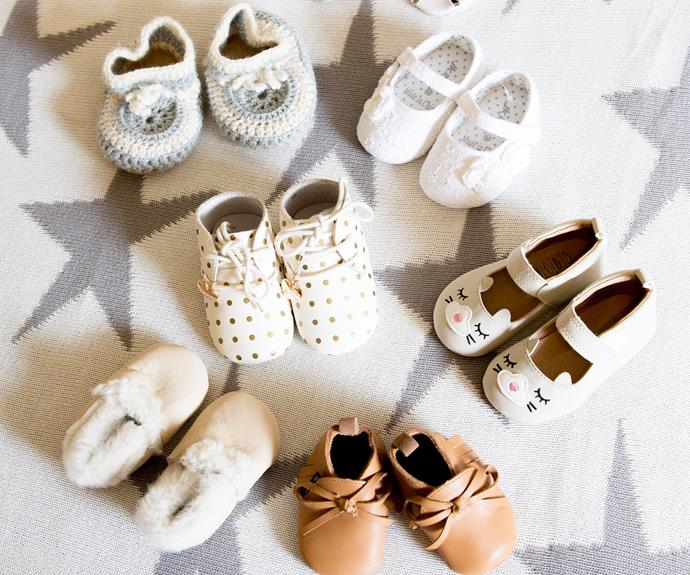 Thea's shoe collection