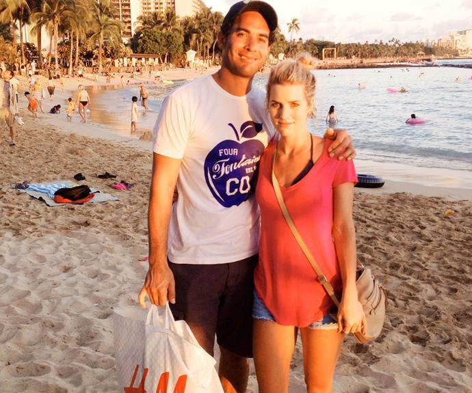 On holiday in Hawaii