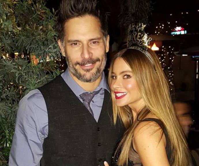 "**Joe Manganiello** and **Sofia Vergara** ""HAPPY NEW YEAR 2016!!!""  (Instagram)"