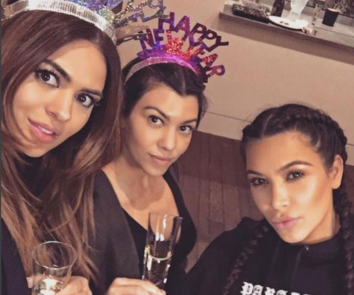 """**Kim Kardashian** """"2016"""" (Instagram)"""