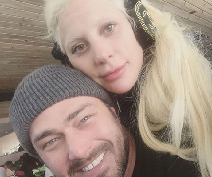 "**Lady GaGa** ""thank you to our fans and loved ones who bless us with so much each year. We had a beautiful holiday and are so grateful because it wouldn't have been the same without you in our lives! Happy New Year's Eve"" (Instagram)"