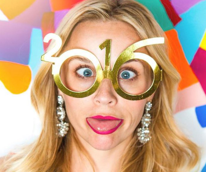 "**Reese Witherspoon** ""Did I mention happiest new year?!!?!"" (Instagram)"