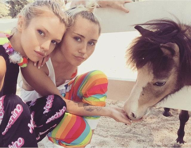 Miley and Stella were rumoured to have split in August 2015. Photo: Instagram