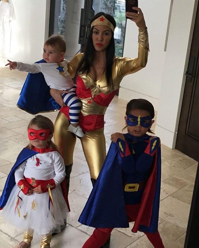 Scott and Kourtney have three children together - Mason, Penelope and Reign. Photo: Instagram