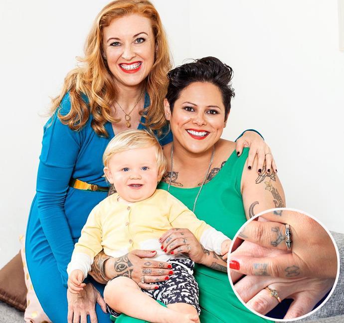 Kiwi songbird Anika Moa and her journalist sweetheart Natasha Utting revealed they got engaged last year. Photo: Woman's Day