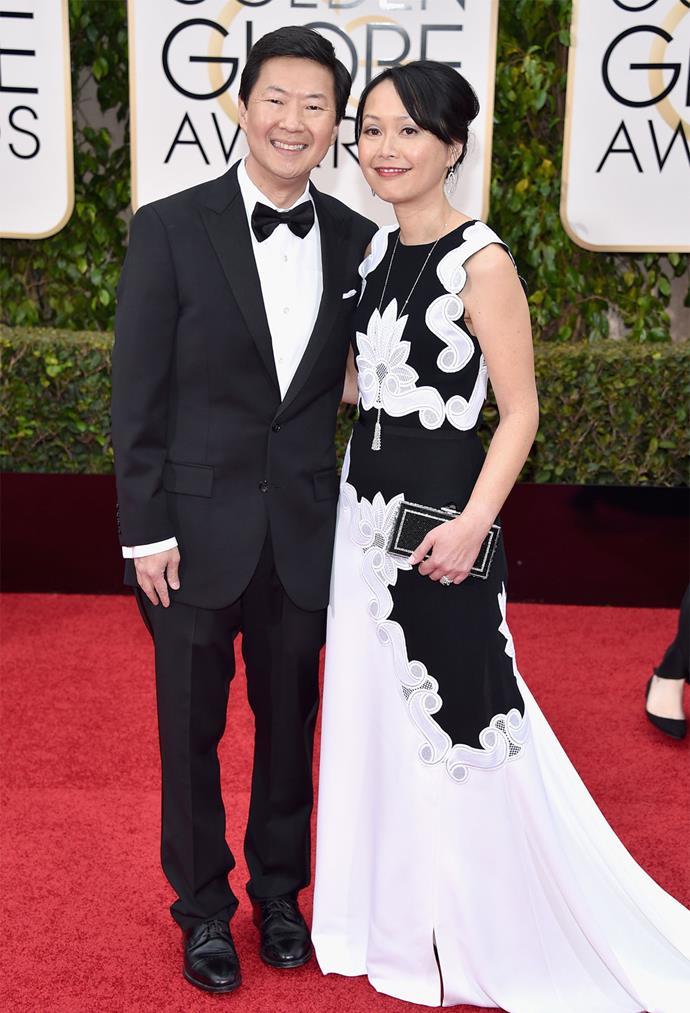 *Dr. Ken* star Ken Jeong and his wife Tran Jeong.