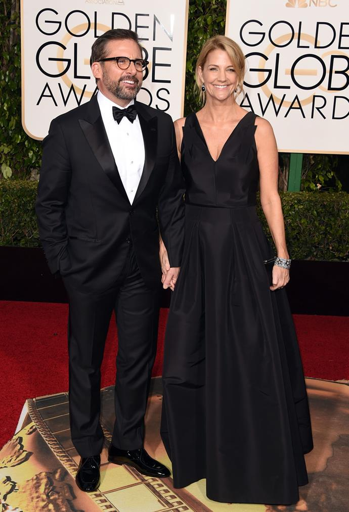 Steve Carell and his wife Nancy