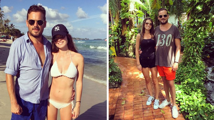 Elizabeth and Mark were enjoying a sun-drenched holiday in Thailand just over a week ago. Photos: Instagram