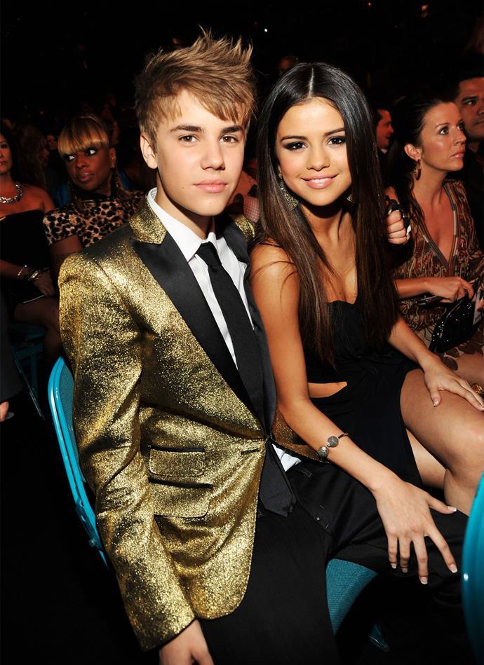 Selena and Justin at the 2011 Billboard Music Awards. Photo: Getty