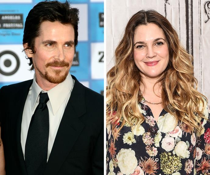 "Christian Bale has revealed he and Drew Barrymore went on one date together during their teenage years - but it wasn't a success. ""We went to see some bloody awful horror film, and that was the end of it,"" he said in a later interview. ""She never called again."""