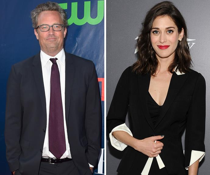 *Friends* star Matthew Perry and *Mean Girls* star Lizzy Caplan kept their long-running romance private, and were rarely photographed together during their six-year relationship. The actor is said to have broken things off with Lizzy in 2012.