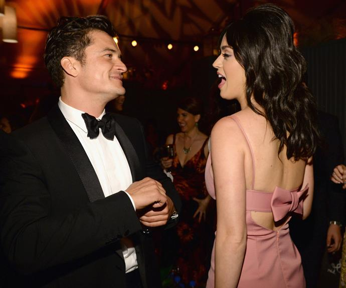 After getting cosy at the Golden Globes in 2016, Katy Perry and Orlando Bloom were spotted holding hands during a cosy dinner date in West Hollywood - but after a loved-up year together, the famous duo have now gone their separate ways. Photo: Getty