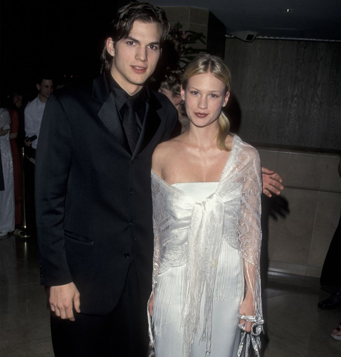 "He's happily settled down now with Mila Kunis, but in his younger years Ashton Kutcher dated *Mad Men* actress January Jones. However, the actress later revealed he wasn't very supportive of her acting ambitions. ""He was like, 'I don't think you're going to be good at this,'"" she told *GQ*. Ouch!"