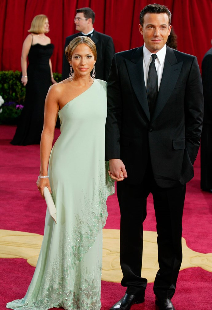 Ben and Jennifer at the Oscars in 2003. Photo: Getty