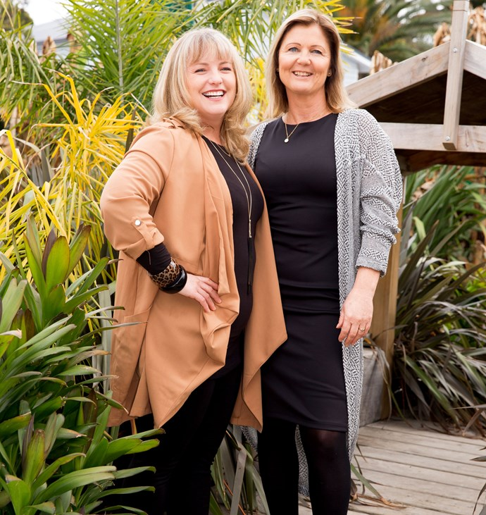 "Ohana founders Megan (left) and Kerry say it's time to support teen mums. ""We need to lift them up."""