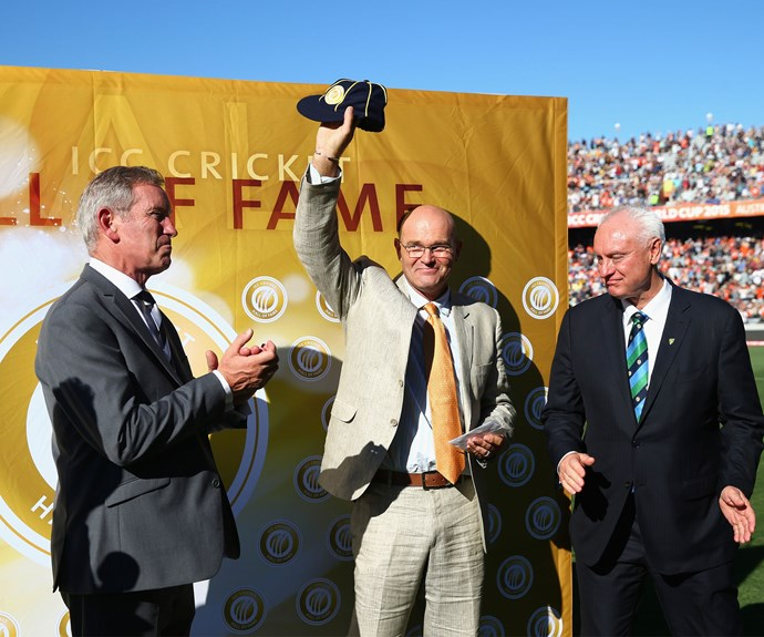 Martin was inducted into the ICC Cricket Hall of Fame last year. Photo: Getty