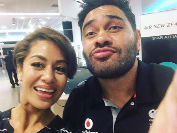 Teuila shared this snap of herself and Konrad Hurrell on Facebook earlier this month. The post has since racked up almost 400 comments. Photo: Facebook