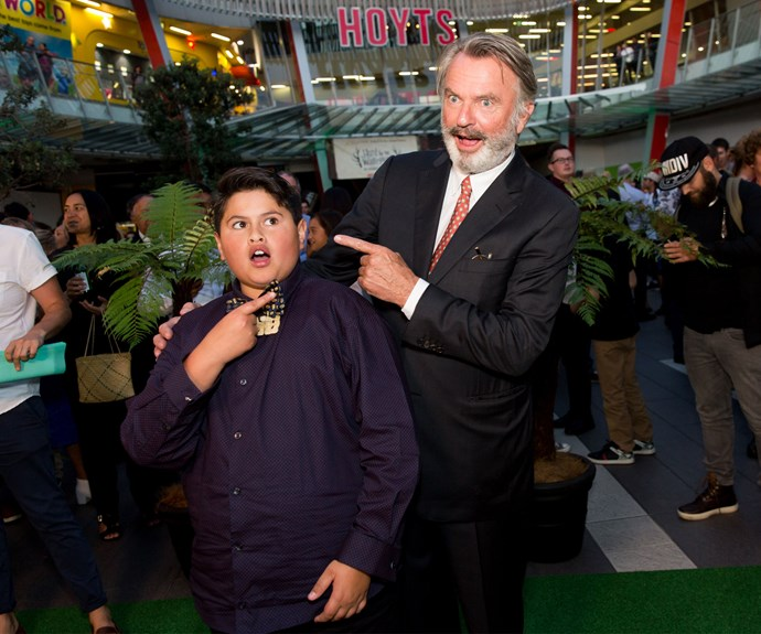 Julian Dennison and Sam Neill. Photo: Carmen Bird
