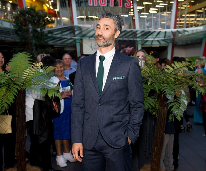 Taika Waititi. Photo: Carmen Bird