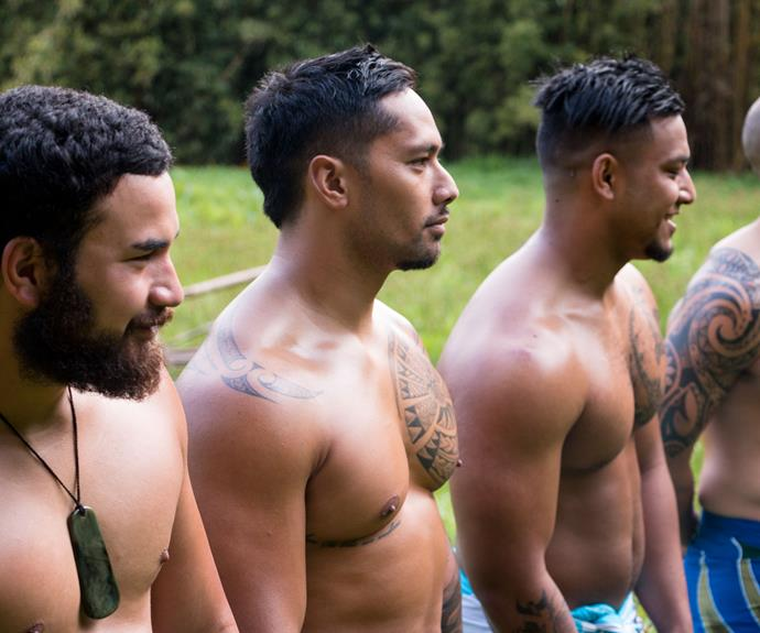 In the new series, 12 modern men compete to be named the ultimate Polynesian island warrior and will be showing off their many skills.