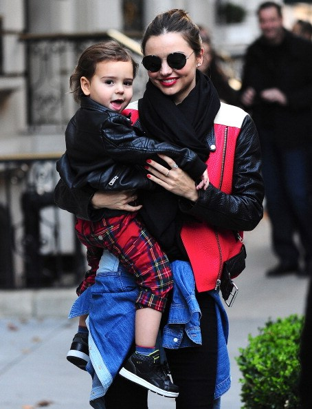 The adorable tot's fashion sense is sure to have been influenced by his model mum, Miranda Kerr.