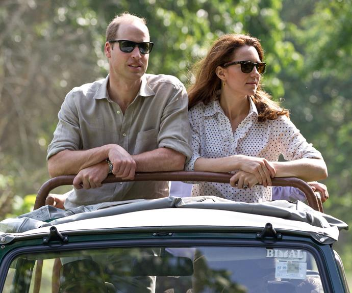 Kate and William continued their tour of India with a visit to the Centre for Wildlife Rehabilitation and Conservation at Kaziranga National Park in Assam.