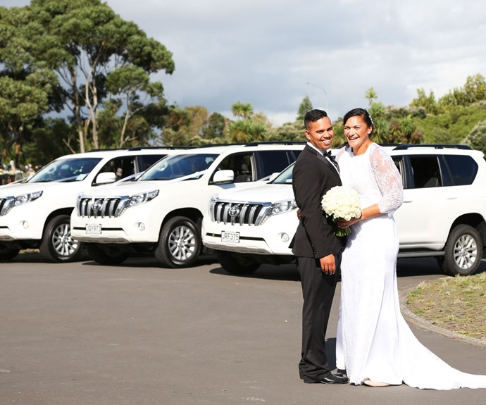 However, Gabriel's first stand-out memory of his future wife was when she started at Mangere Intermediate.