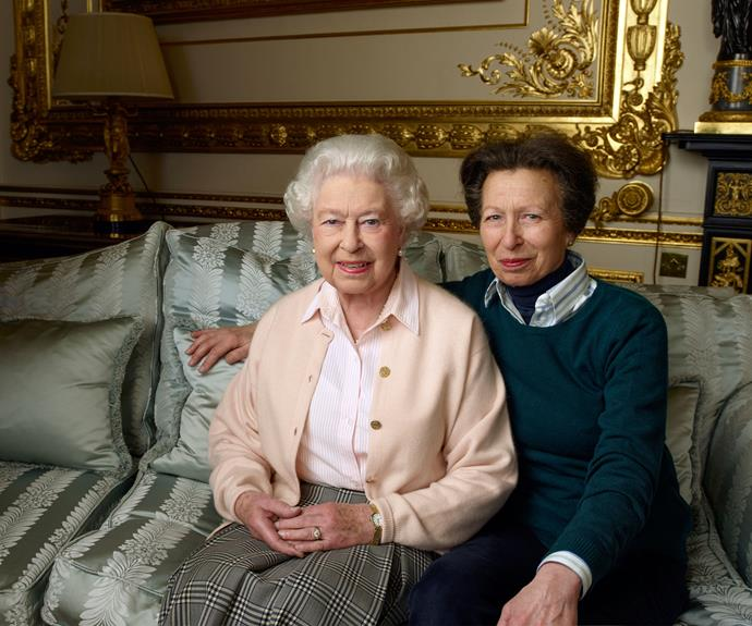 The Queen with her daughter Anne, the Princess Royal. Photo: Annie Leibovitz