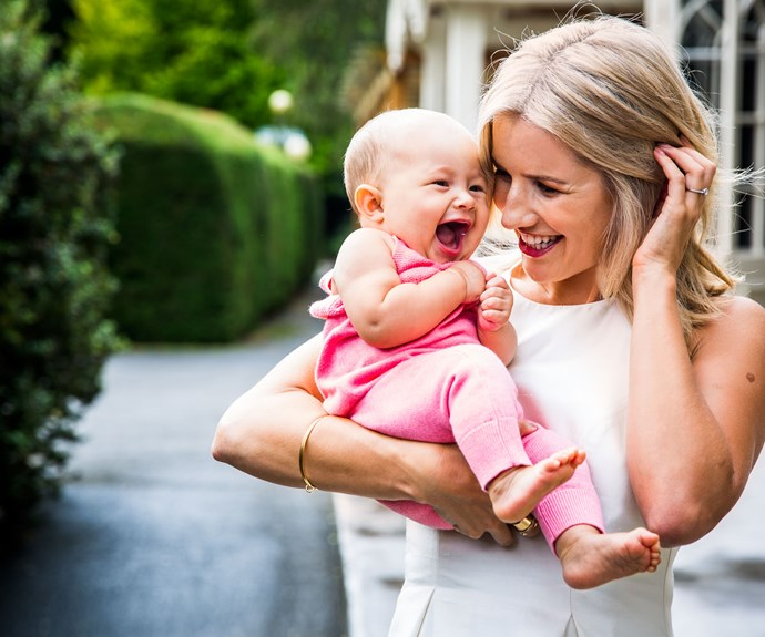 For now, Ali plans on enjoying her last few months as a stay-at-home mum as much as possible. Thea's even about to get her first passport, with the young couple hoping to take their little one to Japan to visit Ali's sister before she starts work again.
