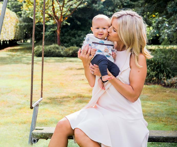 """""""When I said I would be away for six months, I had no idea what being a mum would be like or what to expect,"""" she explains. """"But as it turns out, I totally adore motherhood and the closer Thea got to the six-month stage, the more overwhelming it all seemed."""""""