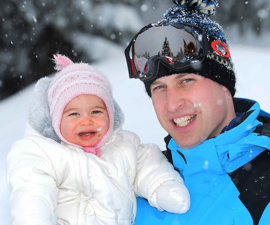 "Princess Charlotte looked like she was having the time of her life posing her with her Dad, Prince William, during a [family ski holiday in the French Alps](https://www.nowtolove.co.nz/celebrity/royals/william-and-kate-share-new-family-photos-15497|target=""_blank""). *(Image: Getty)*"