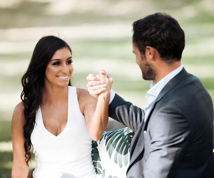 She's still in the running to capture Jordan Mauger's heart on this season of *The Bachelor NZ*, but feisty contestant Naz Khanjani ruffled some feathers early on with her bold approach and her infamous 'hit list'.